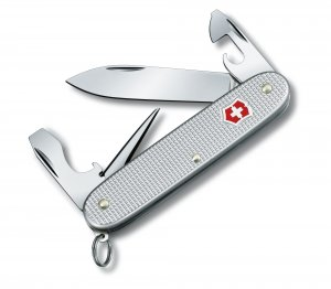 Victorinox Pioneer Large Pocket knife, Silver Alox